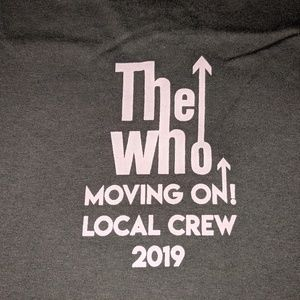 The Who.2019. local crew.tshirt.drk grn. xl. new